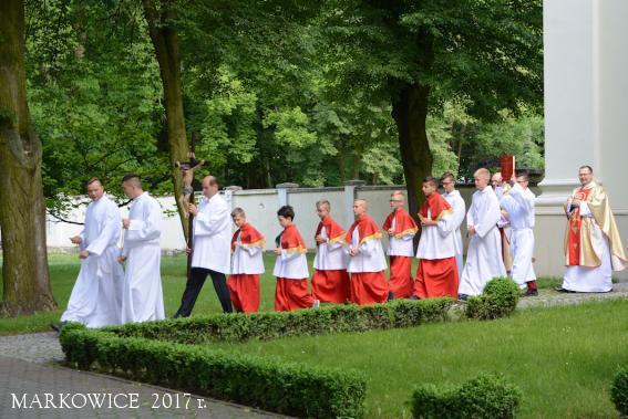 Sanktuarium Markowice - Uroczystość Najświętszego Ciała i Krwi Pańskiej - Boże Ciało