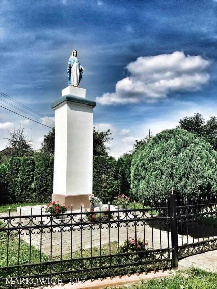 Sanktuarium Markowice - Odnowienie Figury w Kruszy Duchownej