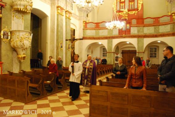 Sanktuarium Markowice - Modlitwa w intencji uchodźców