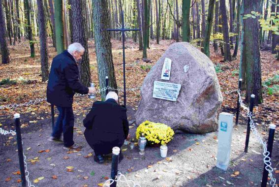 Sanktuarium Markowice - Nawiedzenie miejsca śmierci o. Mariana Wyduby OMI