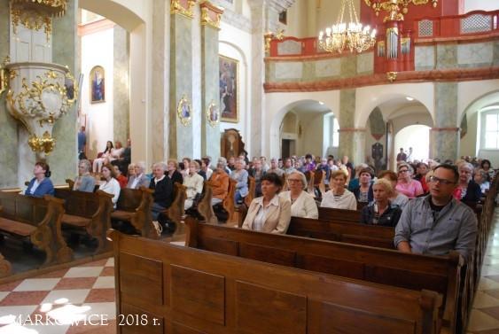 Sanktuarium Markowice - Dzień skupienia Apostolstwa Żywego Różańca