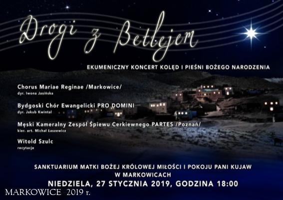 Sanktuarium Markowice - Ekumeniczny Koncert Kolęd i Pieśni Bożego Narodzenia
